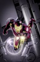 Iron Man Symantec Cover Color by mikeomni