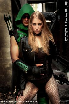 Green Arrow and Black Canary 3 by Superchica