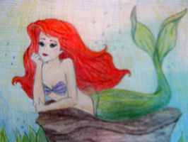 The little mermaid by SquirrelGirl15