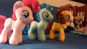 Party Ponies Plushies by NavelColt