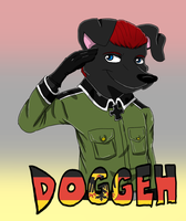Cosplay Badge - Doggeh by MasterDoggeh