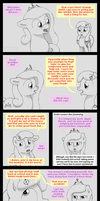 23 - Diamond Tiara is confronted by Apple Bloom by HareTrinity
