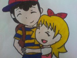 Ness and Tracy by chiny369