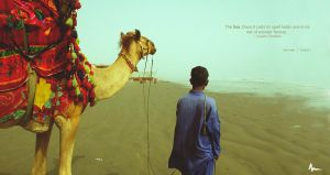 Man with Camel by Areeb89
