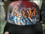graffiti styled hat 2 by whyehate