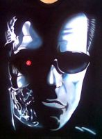 TERMINATOR AIRBRUSHED by javiercr69