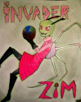 Invader Zim by Seanoin
