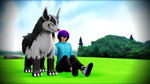[MMD] Spending Time With the Mightyena by LlIIy