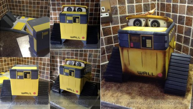 WALL E Stages by ginas-cakes