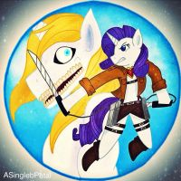 .: Shingeki no Pony :. by ASinglePetal