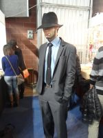 Jigen (Lupin III) - Mantova Comics 2013 by Groucho91