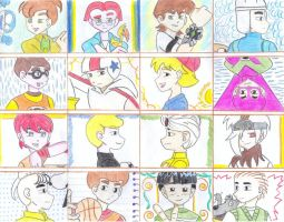 Cartoon Boys 6th Part by ieshika