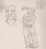 Me and Caboose by jason-the-13th