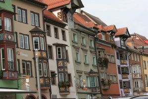 houses in Rottweil 5 by ingeline-art