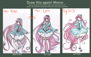 Draw it again and AGAIN by BeckaNeeChan