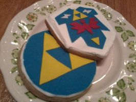 Hyrule Tea Cookies by Sigil79