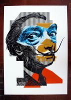 Portrait of Salvador Dali 08 by orticanoodles