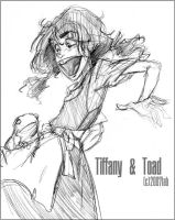 Tiffany and Toad- WFM by lberghol