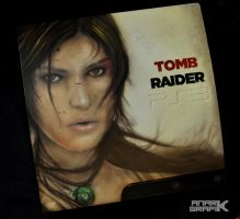 Anark Grafik - PS3 Custom Tomb Raider by anarkange