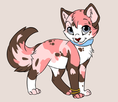 Ice Cream Kitten by Bubbletea-Coyote