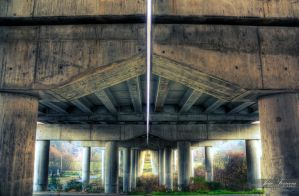 Under the bridge by JoaoPhotography