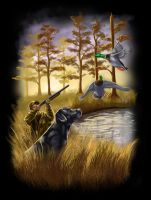 Duck Hunting by Sullyman