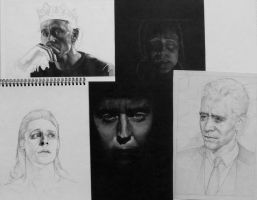 Too many Hiddles WIPs by arthawk87
