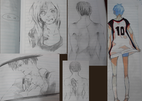 Collage - KNB/SNK/FMA by asulina12