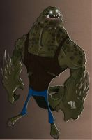 Killer Croc by Pumaboy3d