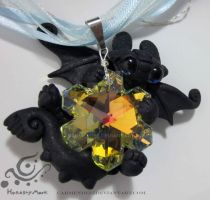 Nightfury snowflake necklace by carmendee