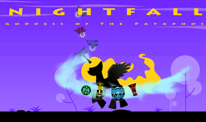 Nightfall Godess of The Patapons by Patapony