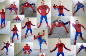 Spiderman Cosplay Collage by KwongBee-Arts
