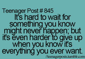 Teenager Post No. 845 by itsmylifeee