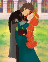 Chief Hiccup and Queen Merida by VikingandLionHeart
