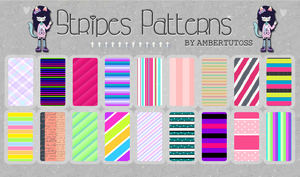 Stripes Patterns~ by Waatt