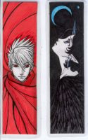 Office Supply Bookmarks by tarorae
