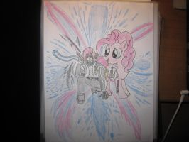 Airseeker and Pinkie Pie by PiplupSTARSCommander