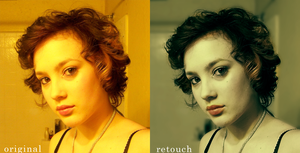 Photo retouch by Chickenese