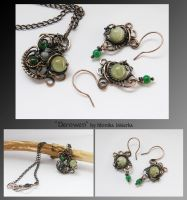 Derowen- wire wrapped set by mea00