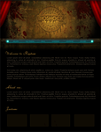 BIOSHOCK CSS Template - WIP by CSS-FORCE