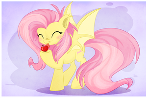 Flutterbat :3 by BlackFreya