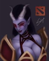 Dota 2: Queen of pain by AugustoGarcia
