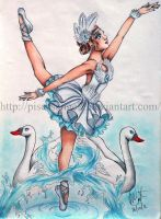 Swan Lake by piscesangel2