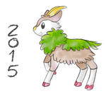 Year of the Skiddo by Eifi--Copper