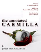 Cover THE ANNOTATED CARMILLA by David-Zahir