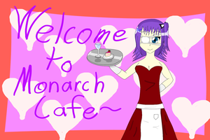 Mayumi - Welcome to Monarch Cafe by Ginger-Hill