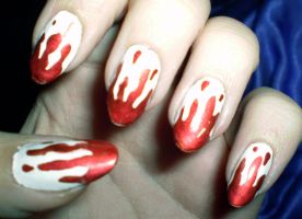 Bloody Nails by shadowcat-666