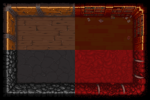 Binding of Isaac Rebirth Tiles by wanyo