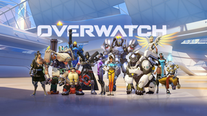 Overwatch Heroes Wallpaper - 1920 x 1080 by Mac117