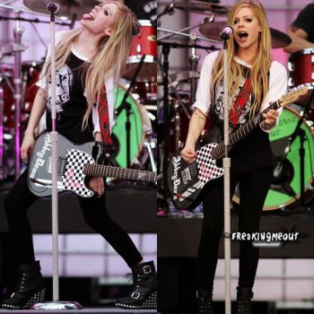 Avril. by freakingmeout